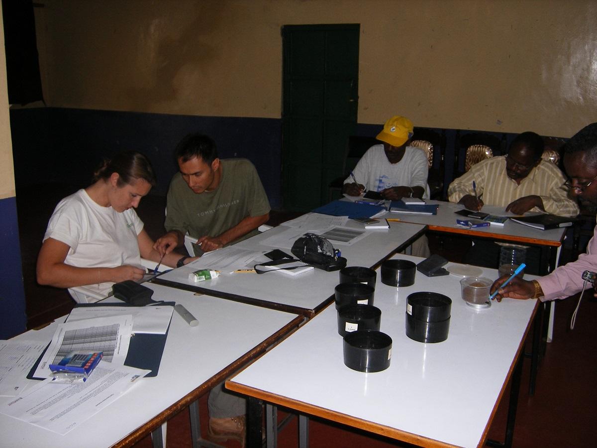 Sieve analysis, Machakos 2007