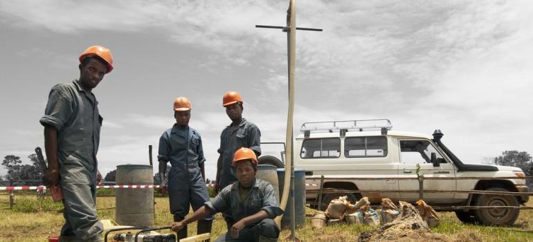 Un tournant pour le forage manuel en République démocratique du Congo