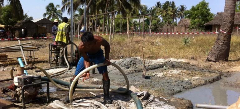 Campagne de forages et d'installations de pompes manuelles – Morondava